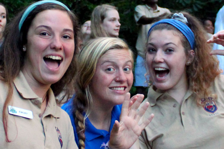 Serve as a staff member at Camp Tekoa