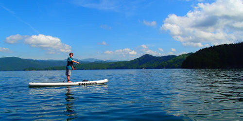 Stand Up paddle Boarding summer camp NC mountains